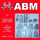"2"" ATV QUAD LIFT KIT fits ALL YEARS KAWASAKI TERYX MODELS"
