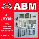 "2"" ATV QUAD LIFT KIT fits 2000-2006 YAMAHA BIG BEAR 400"