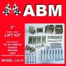 "2"" ATV QUAD LIFT KIT fits 2005-2006 YAMAHA KODIAK 400i & 450i with IRS"