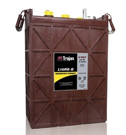 L16RE-B 6V  Trojan Deep Cycle Battery