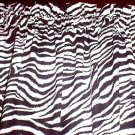 New Window Curtain Valance made from Zebra Stripes fabric FREE SHIPPING