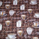 New Window Curtain Valance made from COFFEE MOCHA JAVA    fabric FREE SHIPPING