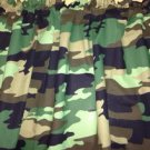 New Window Curtain Valance Made From Camo Camouflage Soldier Hunter Green Fabric