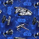 "Star Wars Cotton Fabric Handmade Into 42""W 15""L Window Curtain Valance"