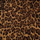"Wild Cat  Cheetah  42""W 15""L Window Curtain Valance Cotton  fabric"
