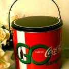 COCA-COLA Coke Tin Metal Cookie Canister - 67-663907