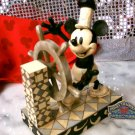 "JIM SHORE Jim Shore Disney Mickey Mouse ""Steamboat Willie"" - 20-4009261"