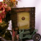 FARM & TRACTOR Picture Frame - Green Farm Tractor - 179-1952
