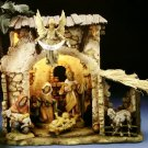 FONTANINI Fontanini Nativity Set with Stable and Palm Tree - 182-54579