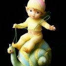 "G.G. SANTIAGO Belly Button Fairies G.G. Santiago ""Snail's Pace"" - 179-11754"
