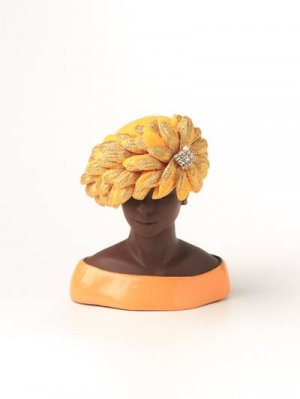 "HARRIET ROSEBUD Harriet Rosebud Miniature Designer Hat - ""Big Mama"" - 195-3133"