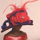 "HARRIET ROSEBUD Harriet Rosebud Miniature Designer Hat - ""Celebrated Woman"" - 195-3126"