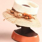 "HARRIET ROSEBUD Harriet Rosebud Miniature Designer Hat - ""Lock"" - 195-3124"