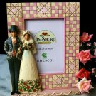 JIM SHORE Stone Resin Jim Shore Bride and Groom Picture Frame - 20-4009311