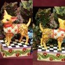 JIM SHORE Stone Resin Jim Shore Heartwood Creek Chihuahua Dog Figurine - 20-4004848