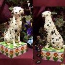 JIM SHORE Stone Resin Jim Shore Heartwood Creek Dalmation Dog Figurine - 20-4004850