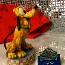 """JIM SHORE Stone Resin Jim Shore Disney Dog """"Loyal Pluto"""" - 20-4009256"""