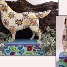 JIM SHORE Stone Resin Jim Shore Heartwood Creek Golden Retriever Dog Figurine - 99-4004860
