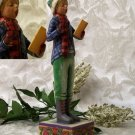 JIM SHORE Stone Resin Jim Shore Christmas Caroler Boy - 20-4005297