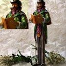 JIM SHORE Stone Resin Jim Shore Christmas Caroler Man - 20-4005326
