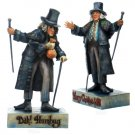 JIM SHORE Stone Resin Jim Shore TWO-SIDED SCROOGE Figurine - 20-4010352