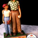 """JIM SHORE Stone Resin Jim Shore Father and Son """"That's My Boy"""" - 99-4009210"""