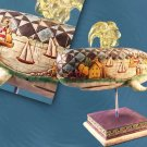 JIM SHORE Stone Resin Jim Shore Shore Lights Whale Figure - 20-118738