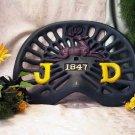 JOHN DEERE John Deere Painted Tractor Seat Heavy Cast Iron - 170-08516
