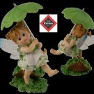 "KITCHEN FAIRIES Kitchen Fairy - ""Shamrock with Umbrella"" - 20-4012244"