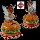 """KITCHEN FAIRIES Kitchen Fairy - Cheeseburger Bank """"Lunch Money"""" - 20-4012253"""