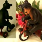 QUARRY CRITTERS Quarry Critter - Black Bear Riding Tricycle - 179-30020