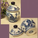BLUE WILLOW Ceramic Ginger Jar - 194-960666