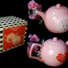 I LOVE LUCY I Love Lucy Pink Porcelain Teapot - 179-14420