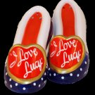 I LOVE LUCY I Love Lucy Porcelain Shoes Salt and Pepper Shakers - 179-453328