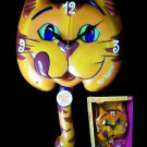 CLOCKS Mr. Meow Mix Cat Collectible Wall Clock - 179-41297