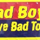 LP-430 Bad Boys Drive Bad Toys License Plate