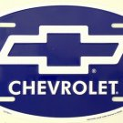 LP-408 Chevrolet Chevy Oval License Plate