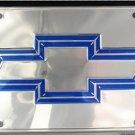 LP-186 Chevy Premium Chrome License Plate