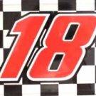 LP-088 #18 Racing License Plate