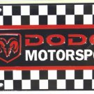 LP-084 Dodge Motorsports License Plate