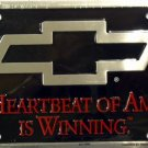 LP-059 Chevy - Hearbeat of America is Winning License Plate