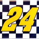LP-044 Jeff Gordon Nascar #24 License Plate