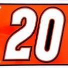 LP-043 Tony Stewart Nascar #20 License Plate