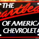 LP-011 Chevy Heartbeat of America License Plate