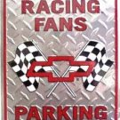 LGP-022 12 X 18 Chevy Racing Fans Sign
