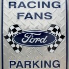 LGP-005 12 X 18 Ford Racing Fans Parking Sign