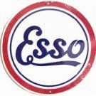C-007 ESSO Logo Emblem Circular Circle Round Sign