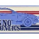 A-023 FORD MUSTANG Takes No Prisoners Vintage Arrow Sign