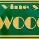 ST-009 Hollywood Blvd & Vine Street Sign