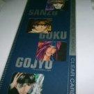 Japan Anime Saiyuki Reload lear Card Set 4 Pieces